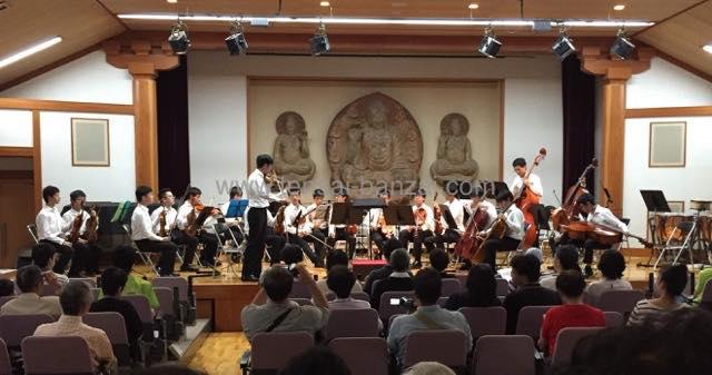 東大寺学園室内楽部の定期演奏会