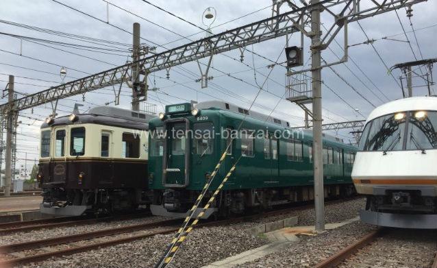 近鉄鉄道まつり2018車両の展示