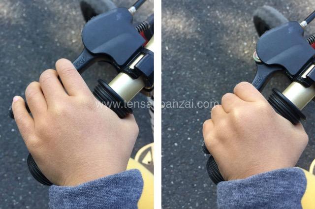 ディーバイクキックスのブレーキ