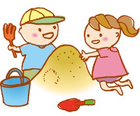 外遊びをする子供のイメージ