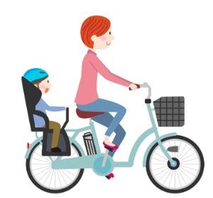 子載せ自転車