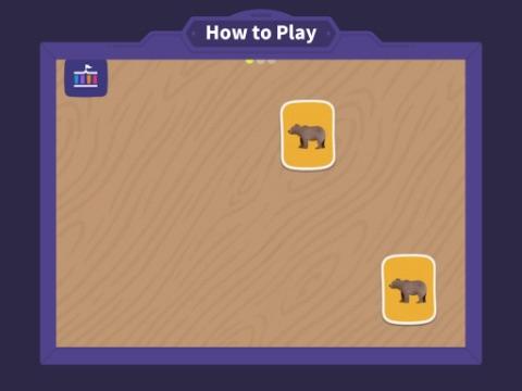 トド英語遊び方説明画面