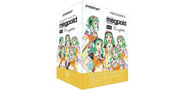 INTERNET ( インターネット ) / VOCALOID4 Starter Pack Megpoid V4 Complete