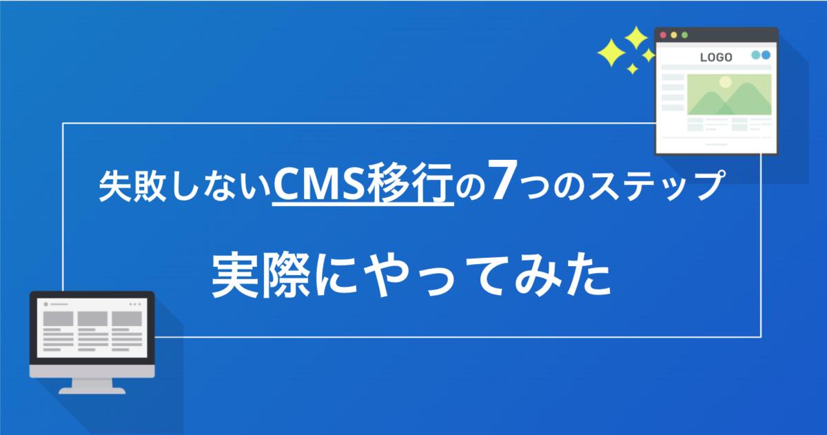CMS移行の7つのステップ