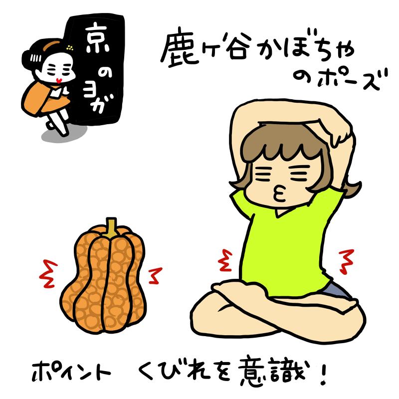 京のヨガ:鹿ヶ谷かぼちゃ