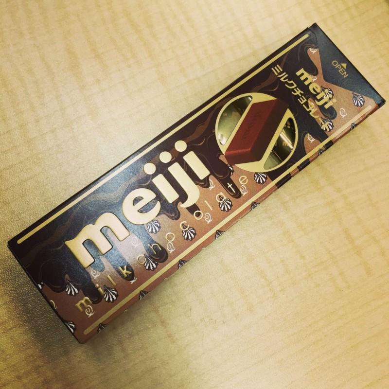 今日のおやつ:ミルクチョコ(Q-pot.コラボ)