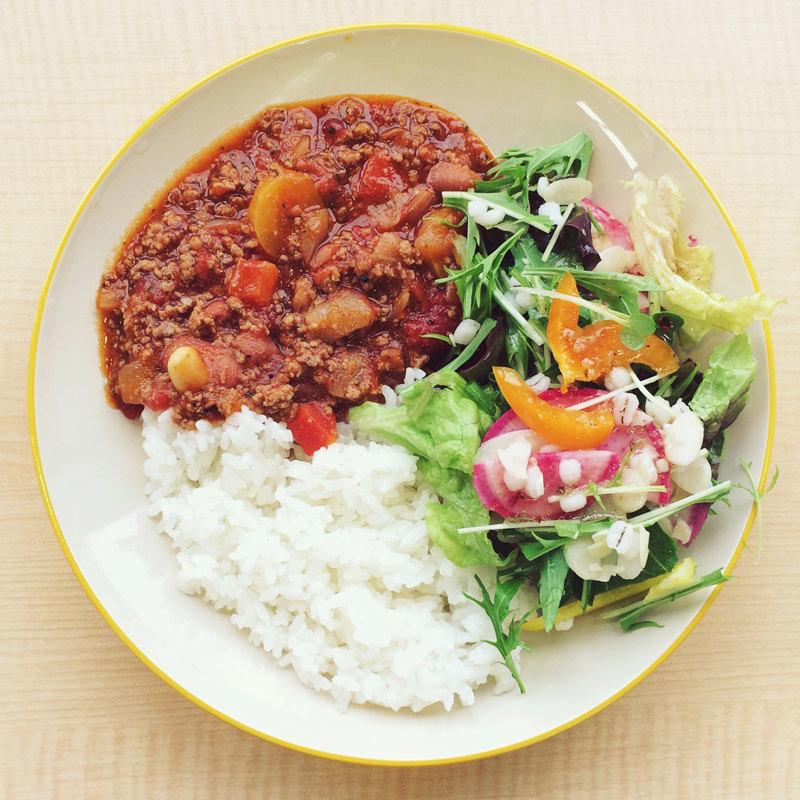 金時豆と大豆のチリコンカン