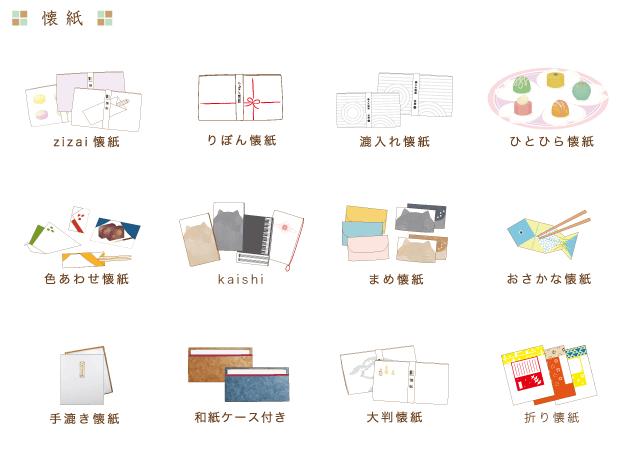 商品一覧|京都懐紙専門店【辻徳】懐紙・オーダーメイド懐紙・懐紙入れの販売