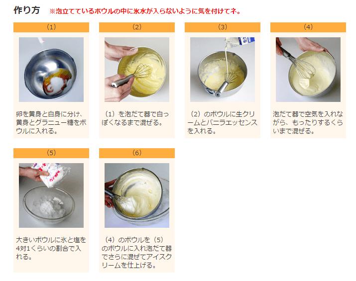 アイスクリーム  |  伯方の塩® | 伯方塩業株式会社