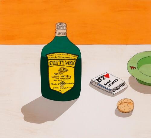 安西水丸 「カティサーク自身のための広告」『象工場のハッピーエンド』(CBSソニー/講談社)より 1983年 個人蔵