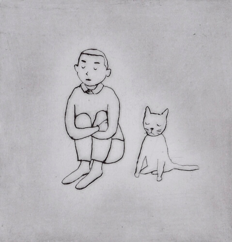 大橋歩 「猫に名前をつけるのは」『サラダ好きのライオン村上ラヂオ3』(マガジンハウス)より 2012年 個人蔵