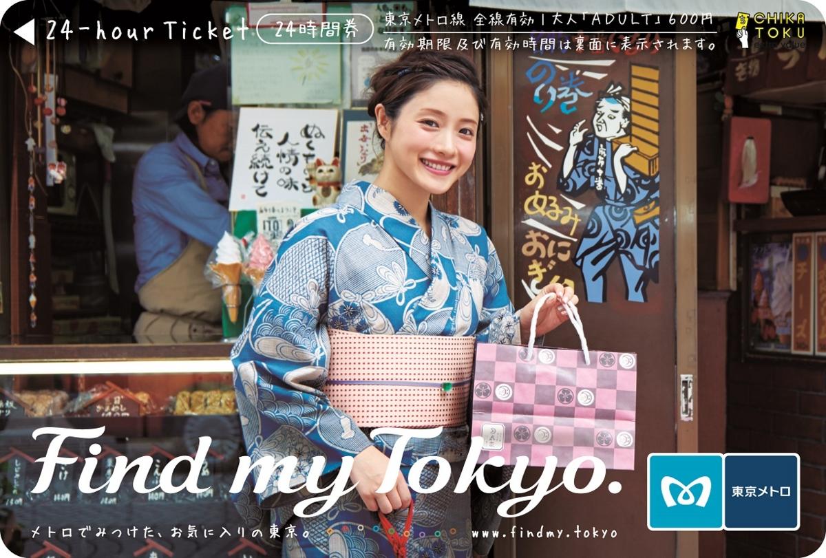東京メトロ24時間券