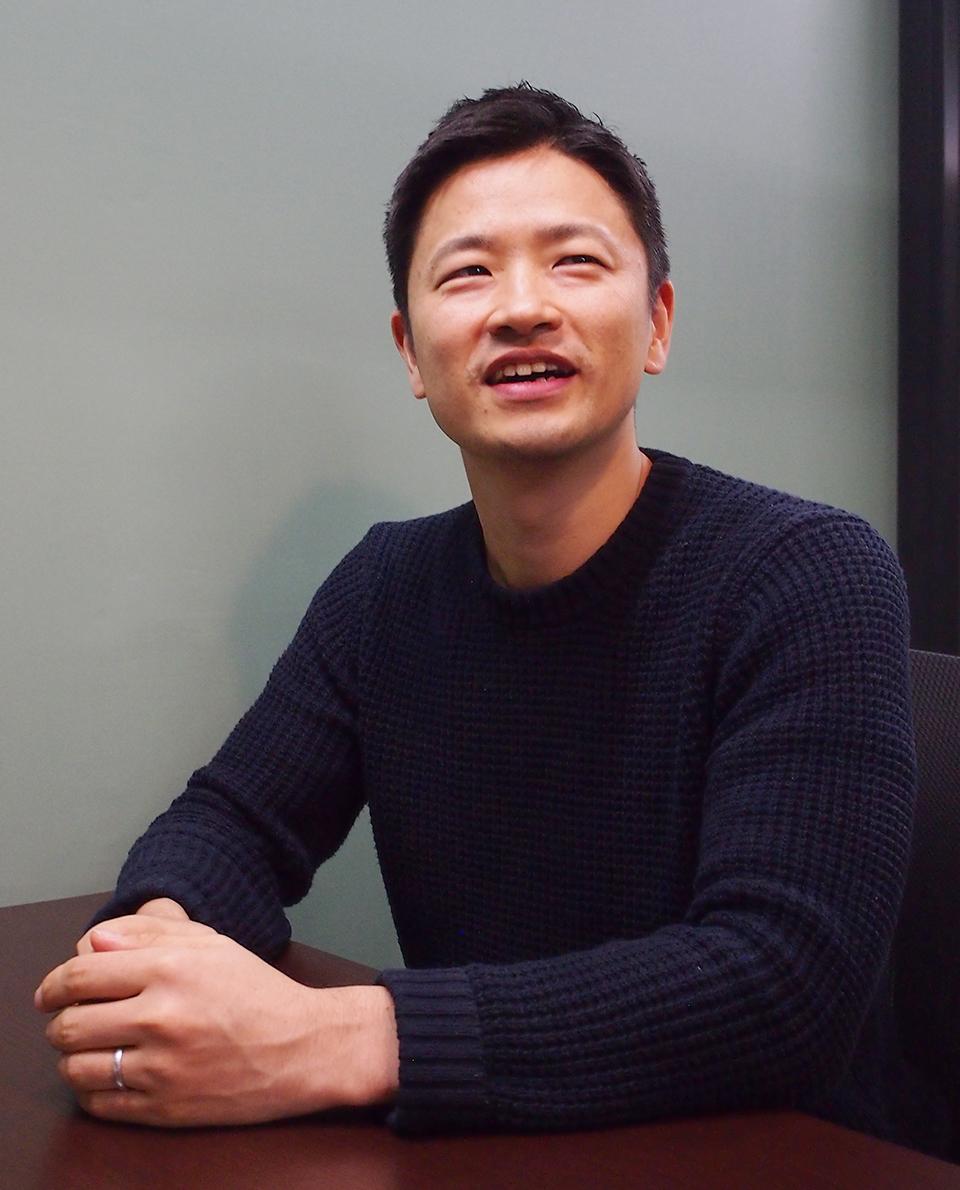 インターノウス株式会社 代表取締役 中舘宏輔さん