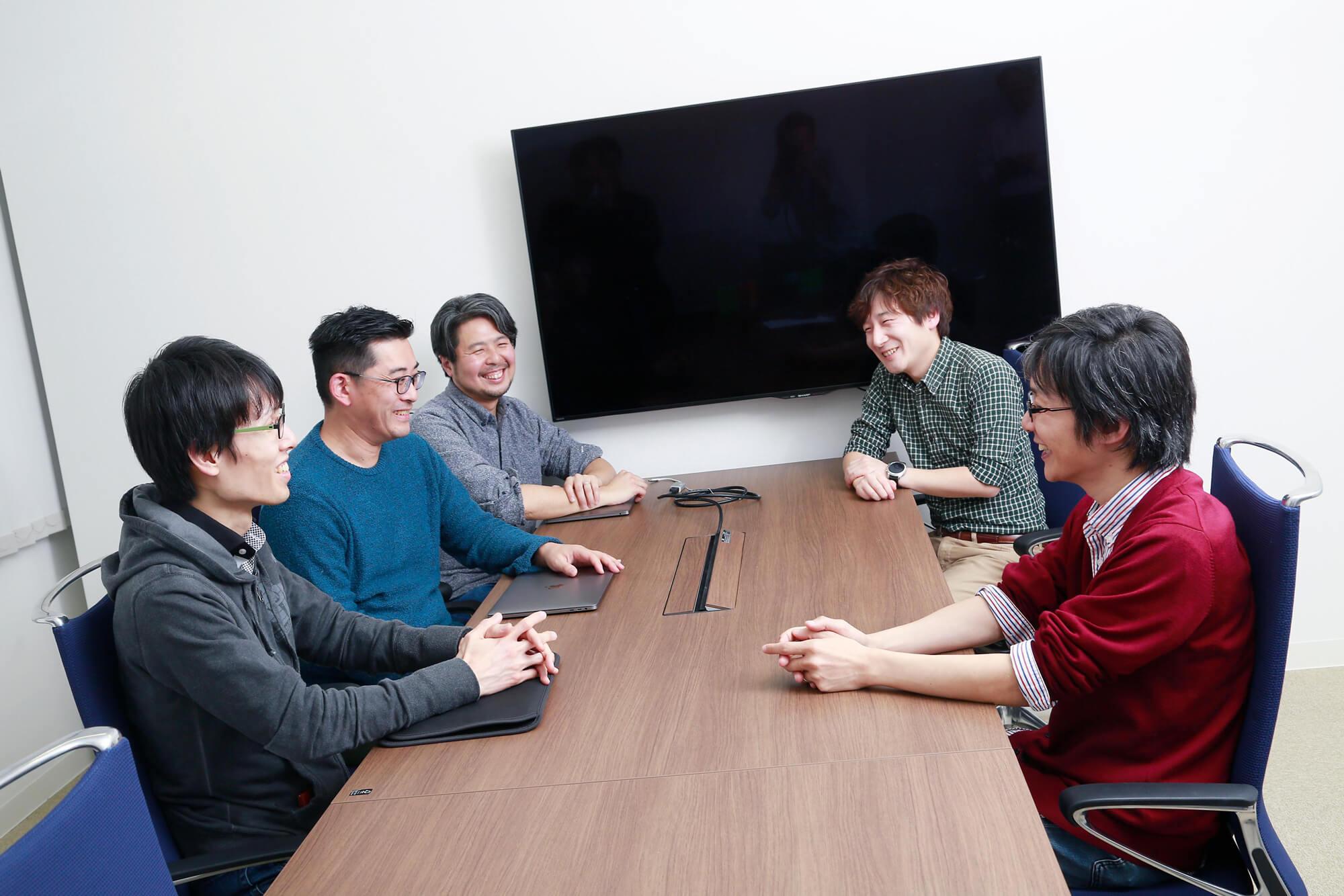 座談会参加者の5名