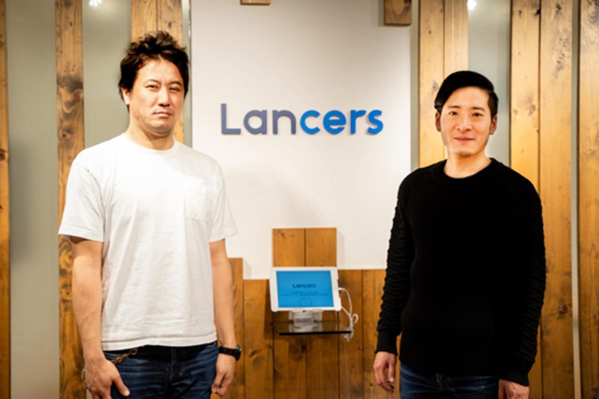 ヨッピーさんとランサーズ株式会社 代表取締役社長の秋好陽介さん