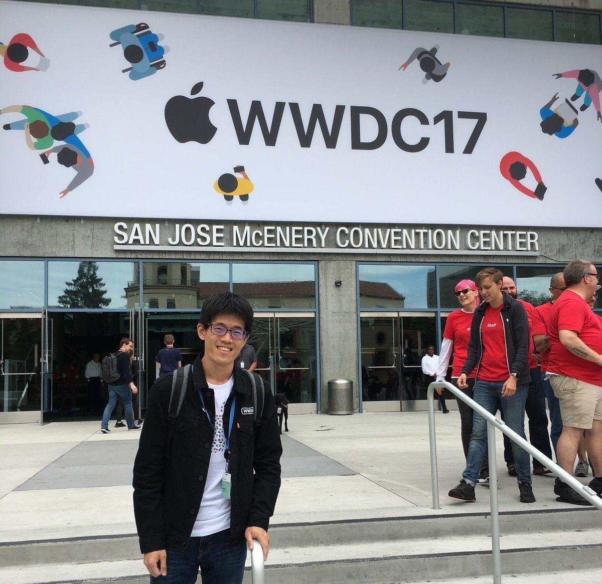 WWDCC17に参加した時のid:ikesyo