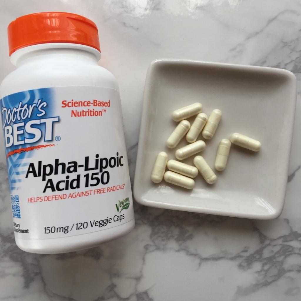 ドクターズベストのサプり、アルファリポ酸