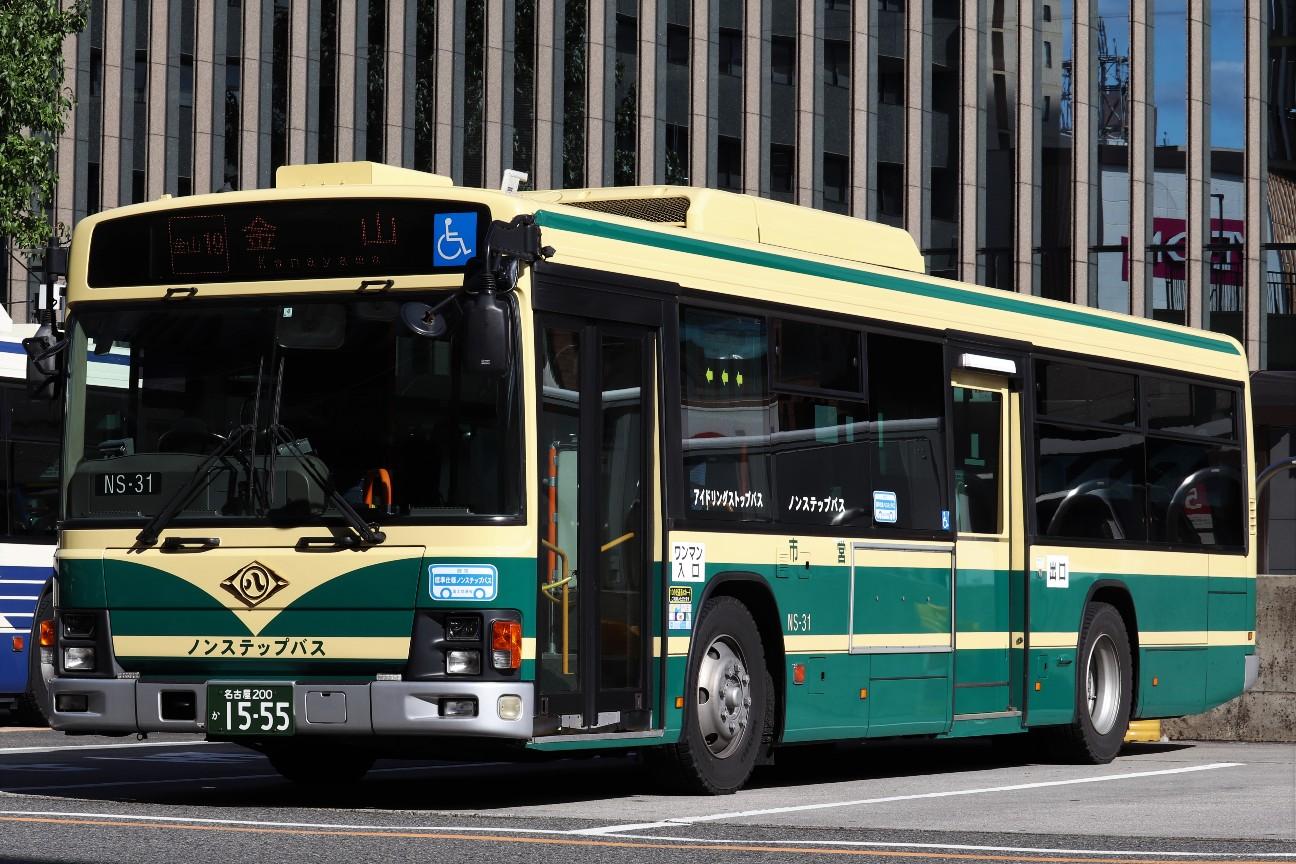 NS-31 名古屋市営バス・レトロカラーバス - HatoAegisのブログ