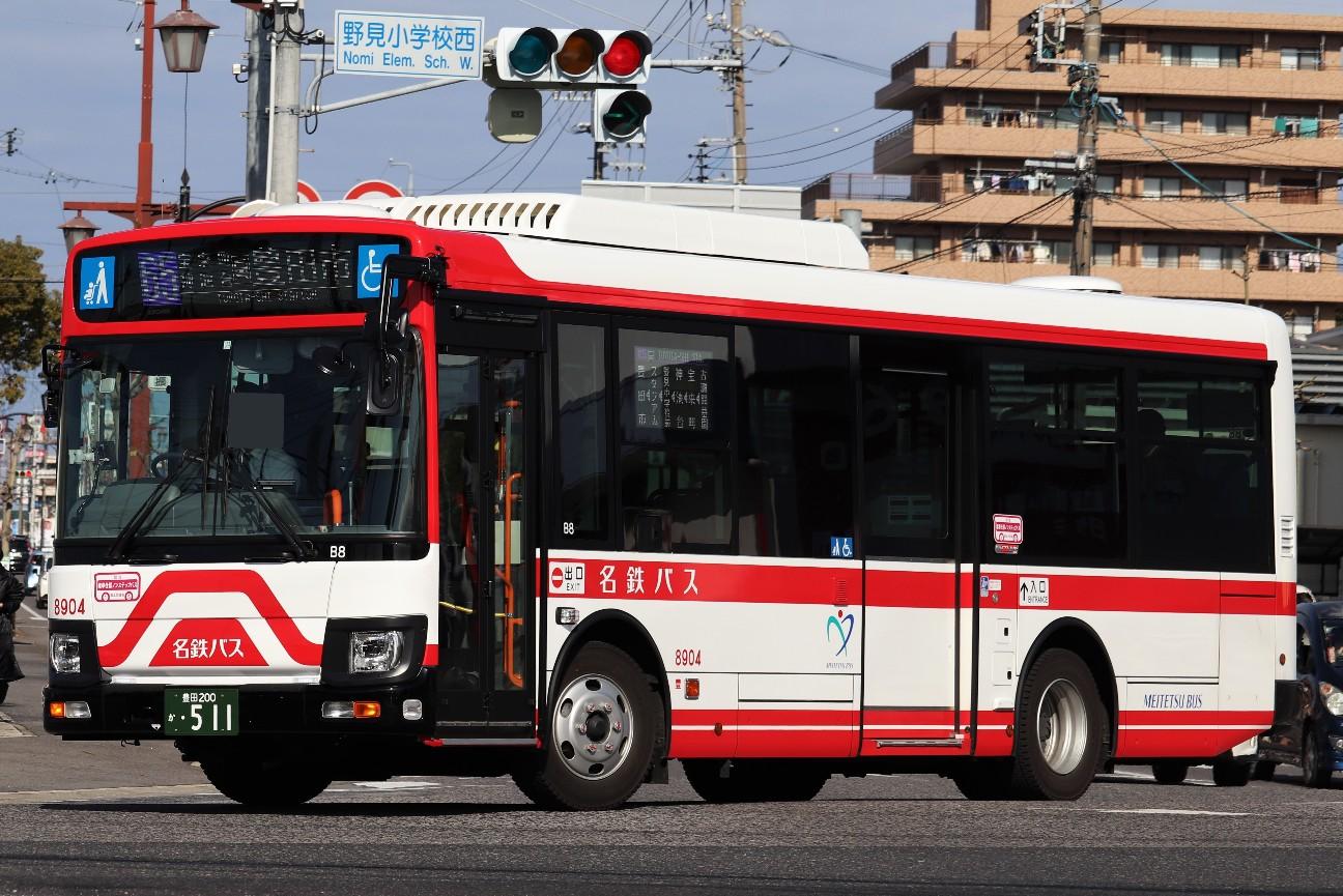 名鉄バス 日野中型新車 - HatoAegisのブログ