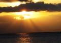 京都新聞写真コンテスト 琵琶湖の夕景②