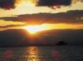 京都新聞写真コンテスト 琵琶湖の夕景①