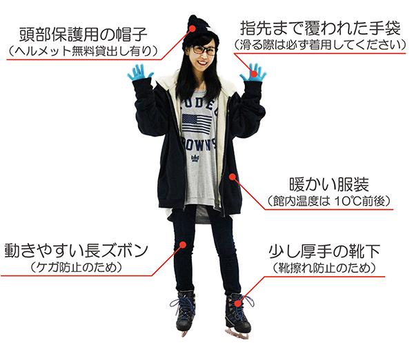 スケート服装