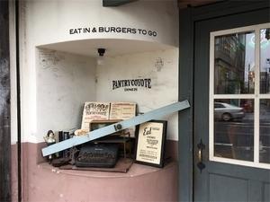 パントリーコヨーテ店の入り口小物の写真