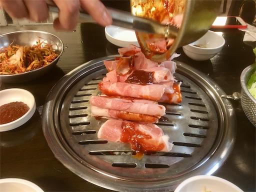セマウル食堂 熱炭プルコギ