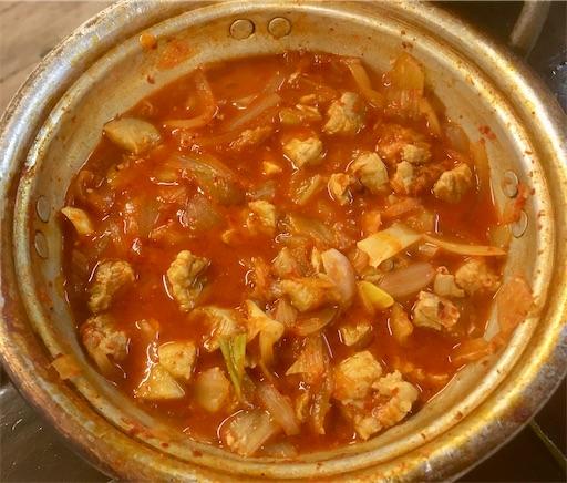 セマウル食堂 7分豚キムチチゲ
