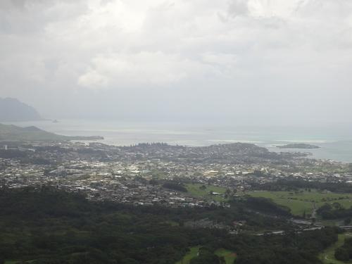 ヌアヌパリ展望台からの景色
