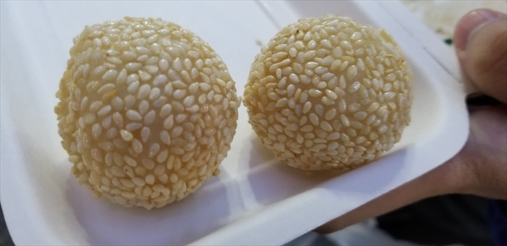 吉祥寺 ゴマ団子