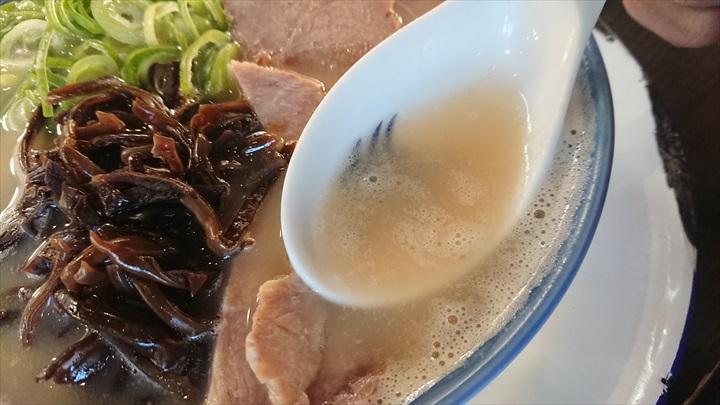 水天宮前 ラーメン しばらく スープ