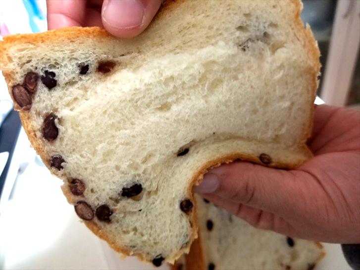 二子玉川 高級食パン あずき 柔らかさ