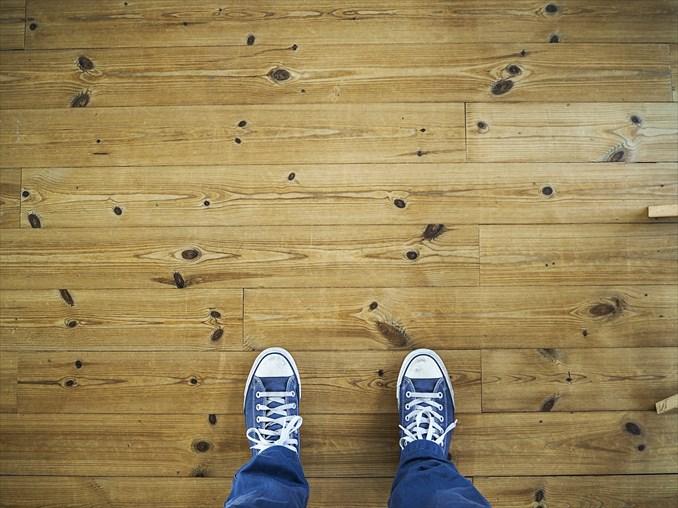 【賃貸管理日記】床材クッションフロアの特徴をお話するよ