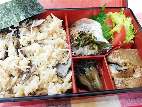 津田園本店 お弁当「きのこ」 実食
