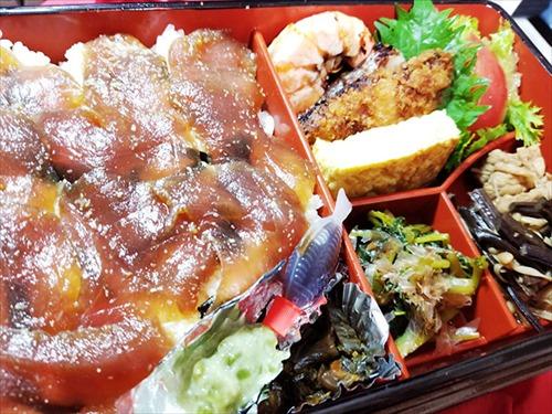 津田園本店 お弁当「鮪漬け」 実食