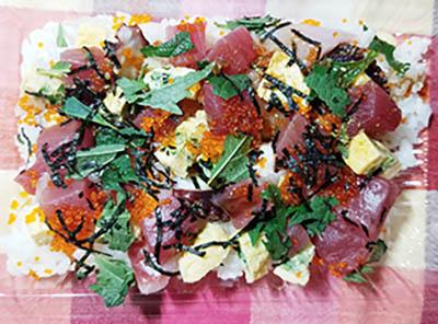 「ちらし寿司」いなせや 実食