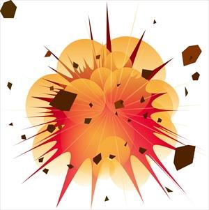 ガス爆発 イメージ