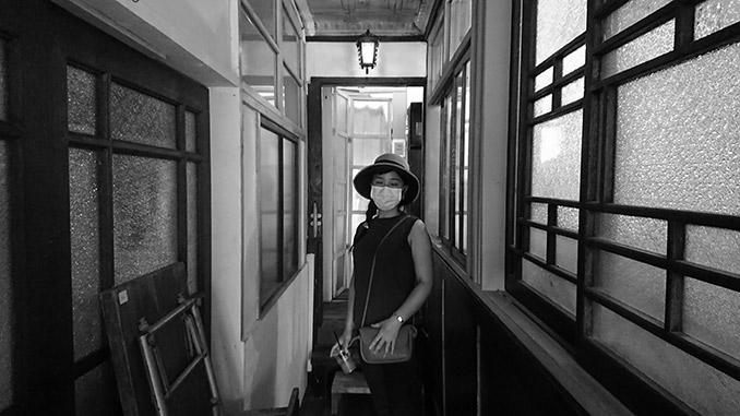 妻をパシャリ『Caffe1925』