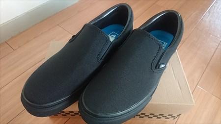 購入した靴 VANS