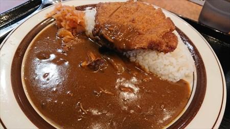 カツカレー 『カレー専門店 クラウンエース 上野店』 (上野駅)