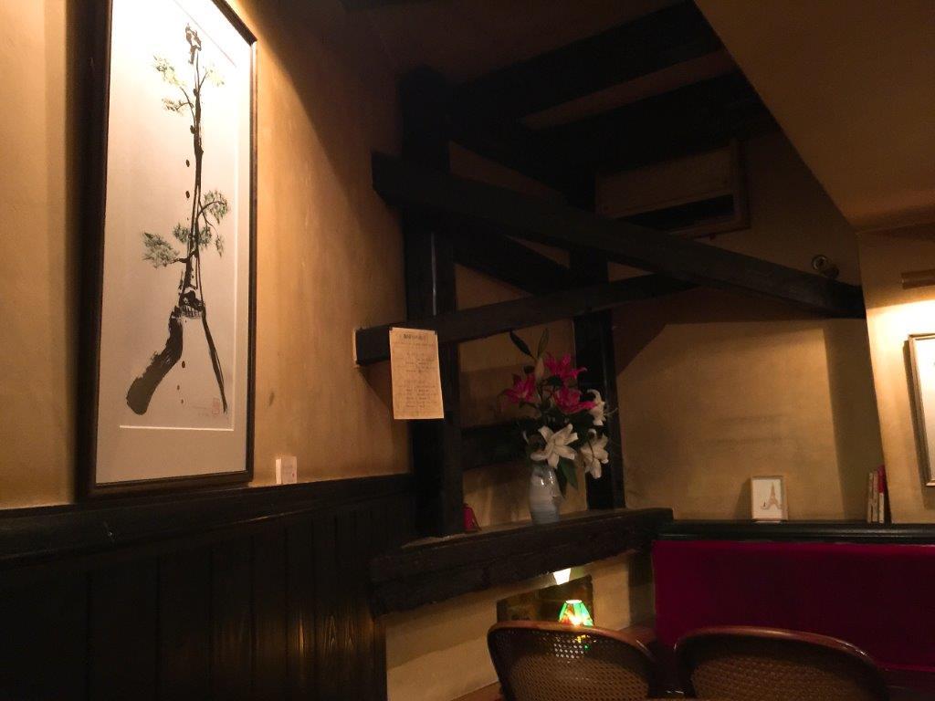 カフェ トロワバグ 店内 神保町