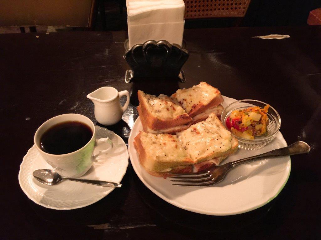 カフェ トロワバグ セットメニュー 神保町