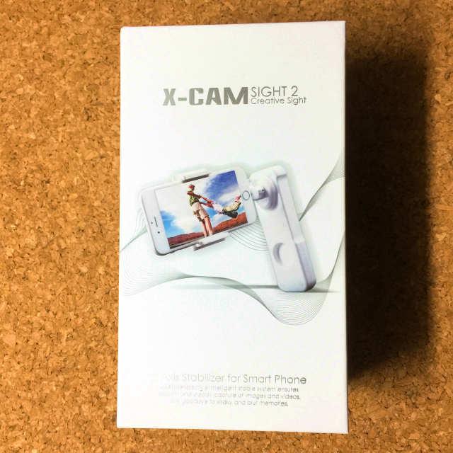 X-CAM SIGHT2 箱