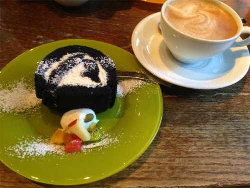 96CAFE,黒壁ロールセット