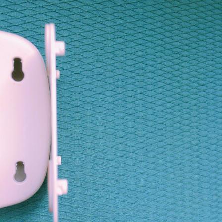 LED人感センサーライト,横から見たところ