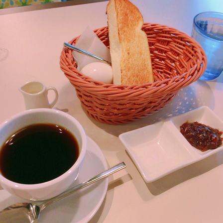 淡路坂珈琲,モーニング