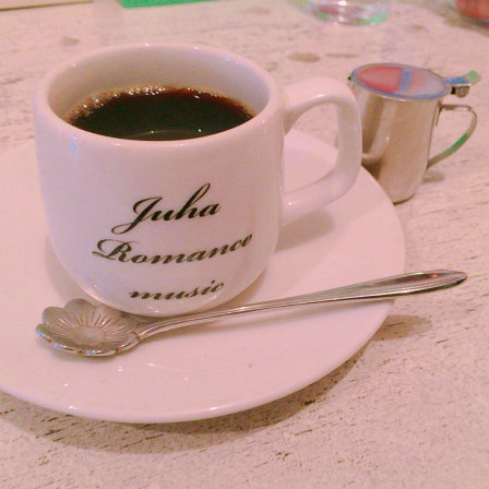luha,コーヒー