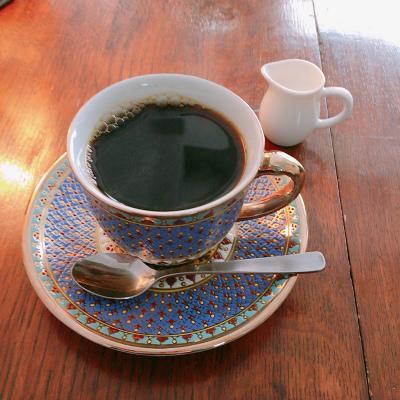 Jazzと喫茶囃子はやし,コーヒー