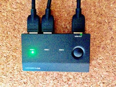 BUFFALO,HDMI切替器,BSAK302